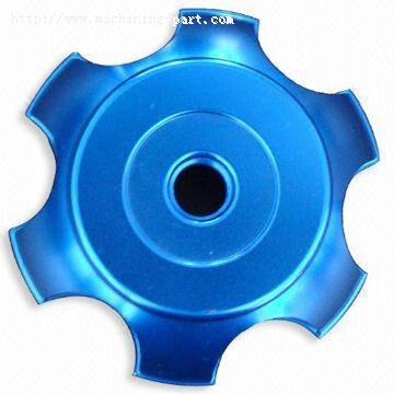 Blue Anodizing Parts